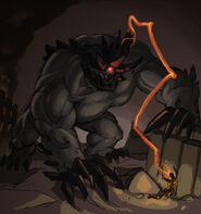 Emptylord Behemoth by beru bera