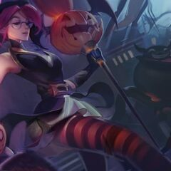 Bewitching Janna Splash Concept 3 (by Riot Artist <a href=