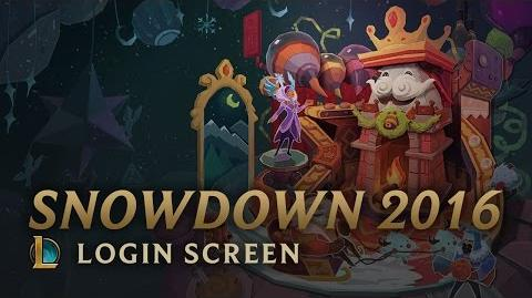 Snowdown Showdown 2016 - ekran logowania