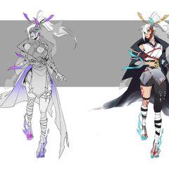 Spirit Blossom Vayne Concept 1 (by Riot Artist <a href=