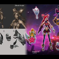 Star Guardian Jinx Model 1 (by Riot Artist <a href=
