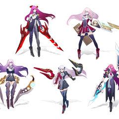 Battle Academia Katarina Concept 4 (by Riot Artist <a href=