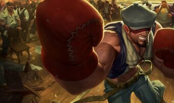Lee Sin KnockoutSkin