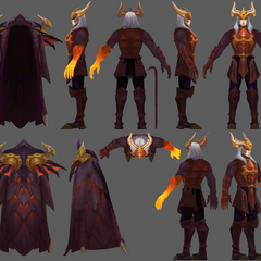 Dragon Master Swain Model