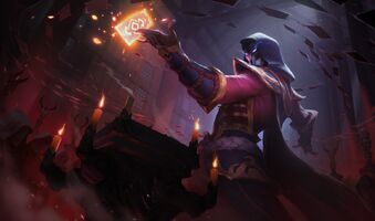 Twisted Fate Blutmond-Twisted Fate S