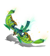 Anivia Papercraft (Emerald)