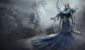 Ashe Königin Ashe S alt