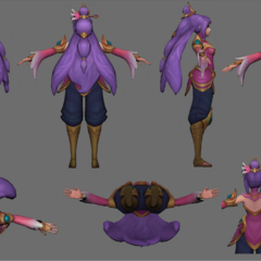 Order of the Lotus Irelia Update Model 4 (by riot Artist <a href=