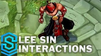Lee Sin Special Interactions