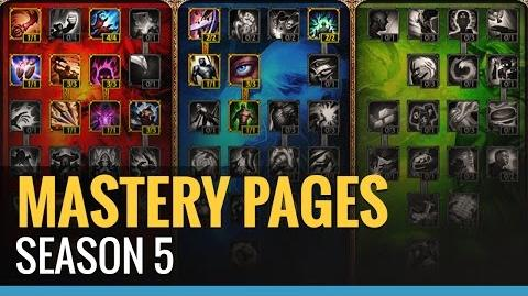 Season 5 Mastery Pages - League of Legends