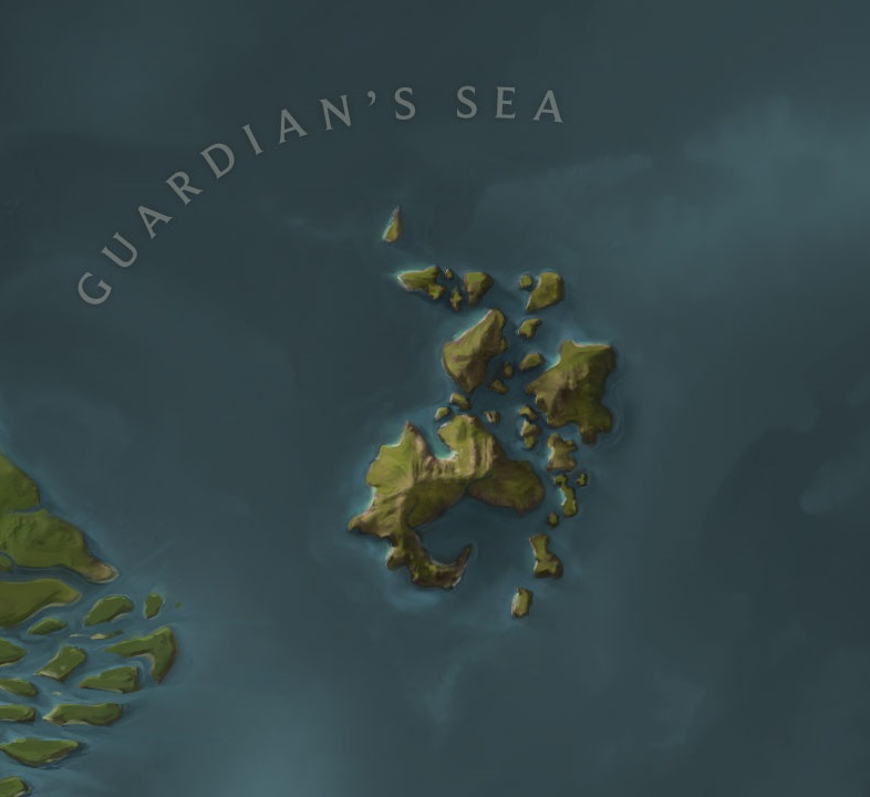Serpent Isles map