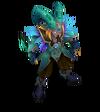 Shaco Arcanist (Turquoise)