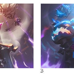 Little Demon Tristana Splash Concept 7 (by Riot Artist <a href=