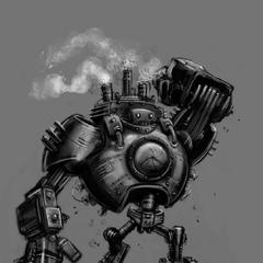 Blitzcrank Concept 3 (by Riot Artist <a href=