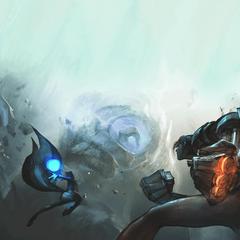 Blue Sentinel Battle Concept