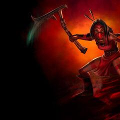 1st Crimson Akali