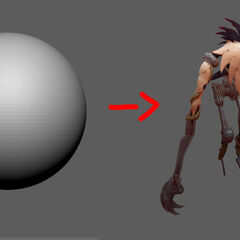 Fiddlesticks Update Model 1 (by Riot Artist <a href=
