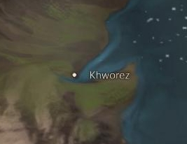 Khworez map