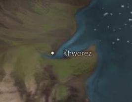 Khworez map