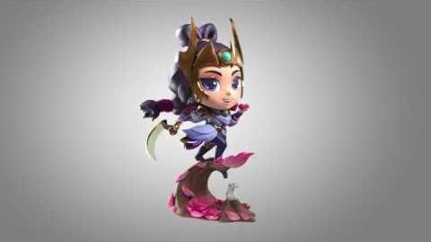 Lunar Goddess Diana Figure turnable