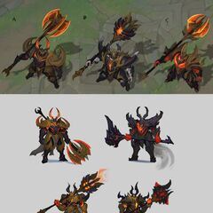 Infernal Mordekaiser Update Concept 2 (by Riot Artist <a href=