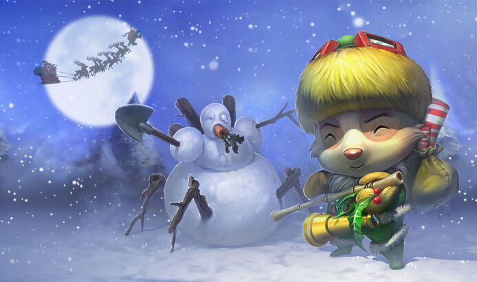 Teemo.Świąteczny Elf Teemo.skórka.jpg