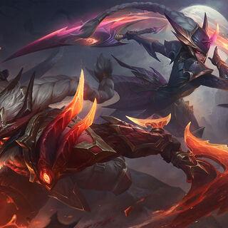 Dragonslayer Diana and Olaf