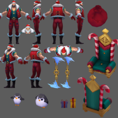 Santa Draven Model 2 (by Riot Artists <a href=