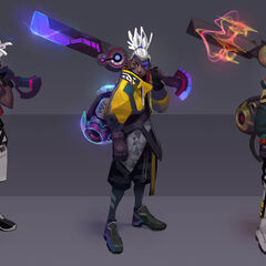 True Damage Ekko Concept 1 (by Riot Artist <a href=