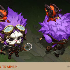 Dragon Trainer Heimerdinger Concept 2 (by Riot Artist <a href=