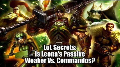 LoL Secrets Leona's Hidden Passive Vs