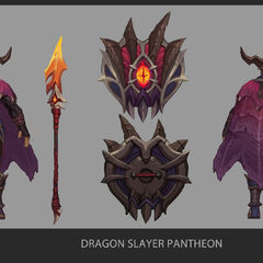 Dragonslayer Pantheon Update Concept 1 (by Riot Artist <a href=