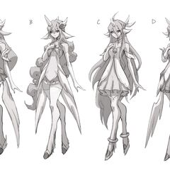 Star Guardian Soraka Concept 4 (by Riot Artist <a href=