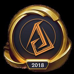 Mistrzostwa 2018 – Złote ASC