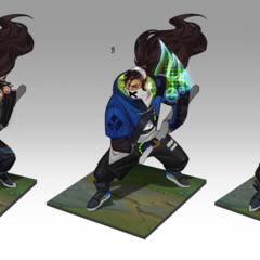 True Damage Yasuo Concept 3 (by Riot Artist <a rel=