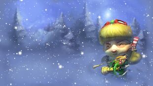 Šťastný Elf Teemo