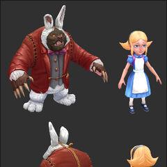 Annie in Wonderland Update Model 2 (by Riot Artist <a href=