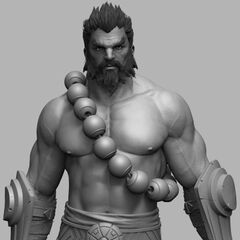 Spirit Guard Udyr Cinematic Model 6 (by Riot Artist <a rel=