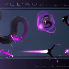 Vel'Koz Concept (by Riot Artist <a href=