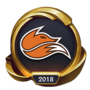 Worlds 2018 Echo Fox (Gold) Emote
