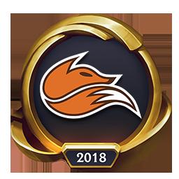 Worlds 2018 Echo Fox (Gold) Emote