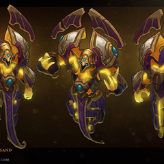 Guardian of the Sands Xerath Model 1 (by Riot Artist <a href=
