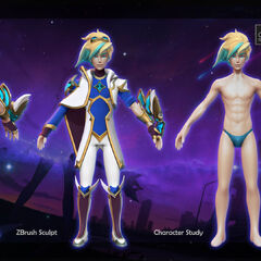 Star Guardian Ezreal Model 3 (by Riot Artist <a href=