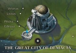 The Great City of Demacia map