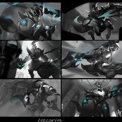 Lancer Zero Hecarim Splash Concept 1 (by Riot Artist <a href=