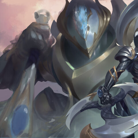 Warden Sivir and Nautilus Splash Concept