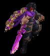 Talon Drachenklingen-Talon (Amethyst) M