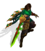 Talon Dragonblade (Emerald)