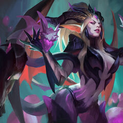 Dragon Sorceress Zyra Splash Concept 2 (by Riot Artist <a href=