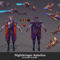Nightbringer Aphelios Model 5 (by Riot Artist <a rel=